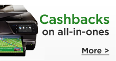 cashback printers all in one
